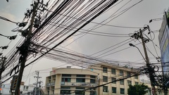 The electrical wires looked excessive and crazy to me