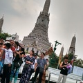 Wat Arun, the Temple of the Dawn: and tourists