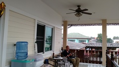 Also our balcony in Ayutthaya