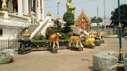 Entrance to a temple near the Don Meung Airport
